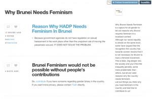 BruneiFeminism