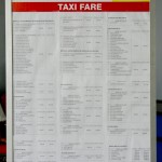 Taxi fares from Brunei International Airport [updated October 2013]