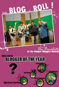 Blogger of the year