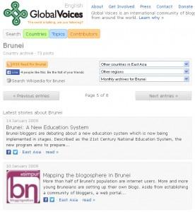 GlobalVoices-Brunei