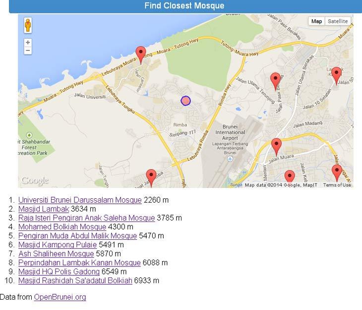 Find-Closest-Mosque---Brunei Geek Meet