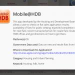 Mobile@HDB - Singapore