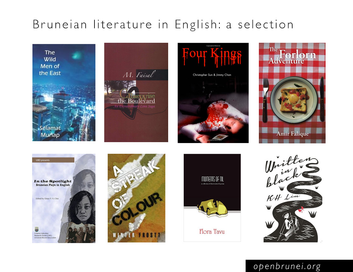 Bruneian literature in English: a selection